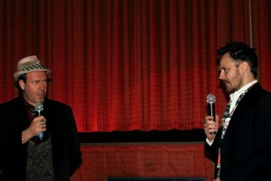 Philip Nutman & Ashley Thorpe pictured at 'Buried Alive' Film Festival 2010